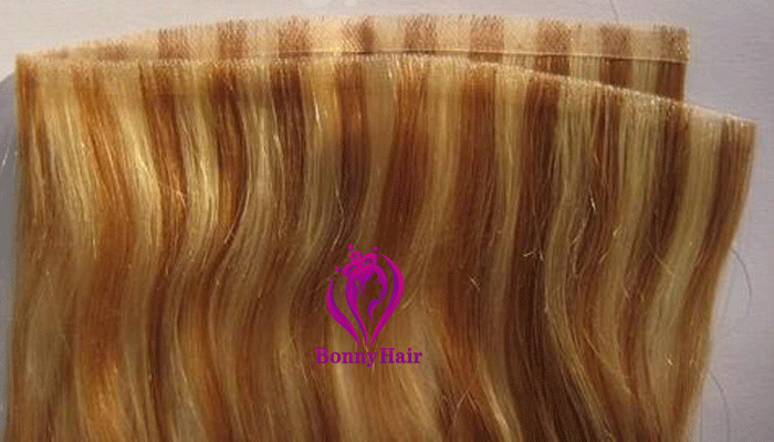 100% Remy Human Hair Seamless Skin Weft--14