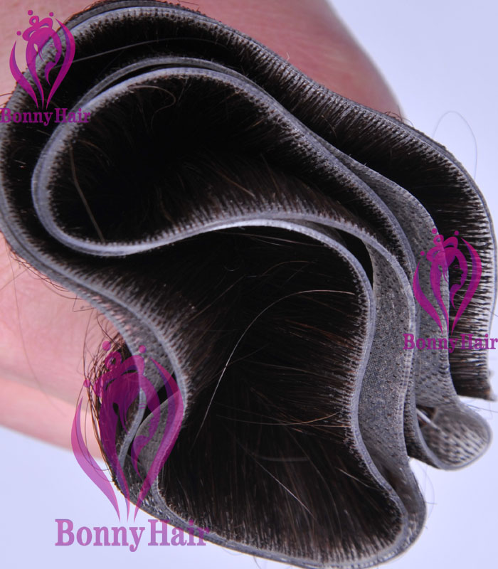 100% Remy Human Hair Seamless Skin Weft--28
