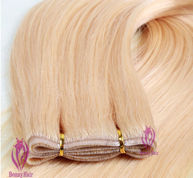 100% Remy Hair Seamless Skin Weft--36
