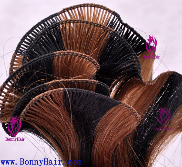 100% Remy Hair Hand Tied Hair Weft--51