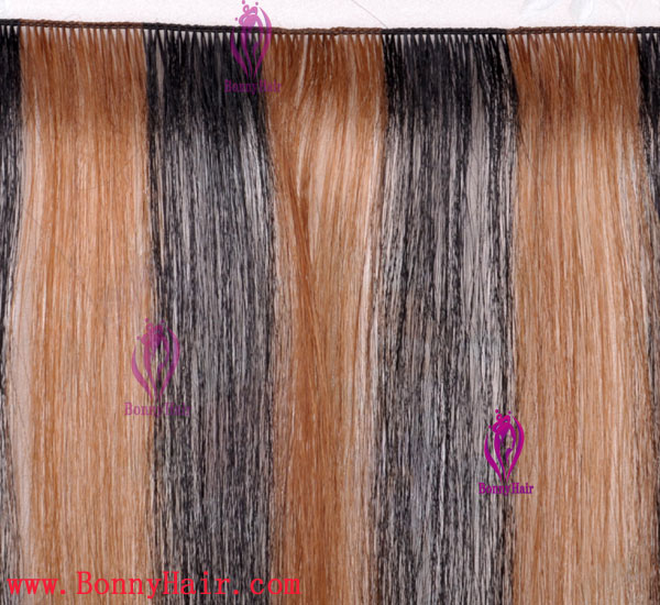 100% Remy Hair Hand Tied Hair Weft--52
