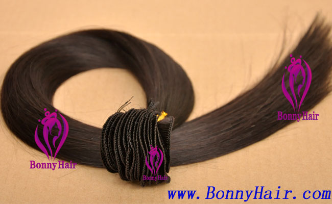 100% Remy Hair Hand Tied Hair Weft--57