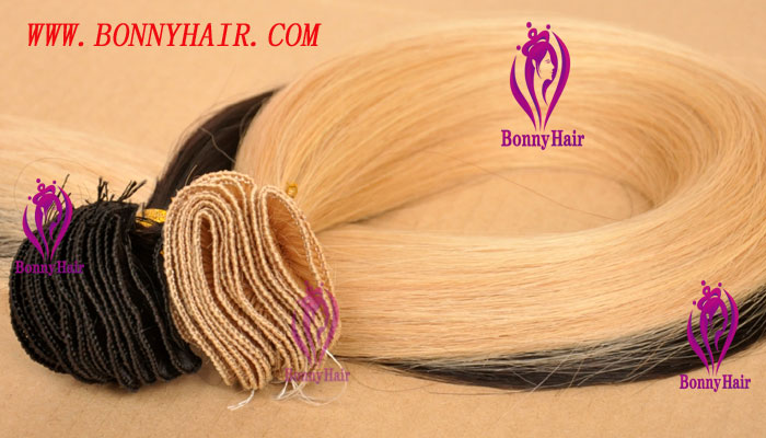 100% Remy Hair Hand Tied Hair Weft--60