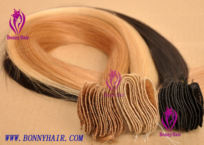 100% Remy Hair Hand Tied Hair Weft--62