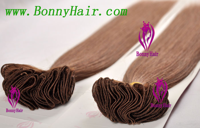 100% Remy Hair Hand Tied Hair Weft--67