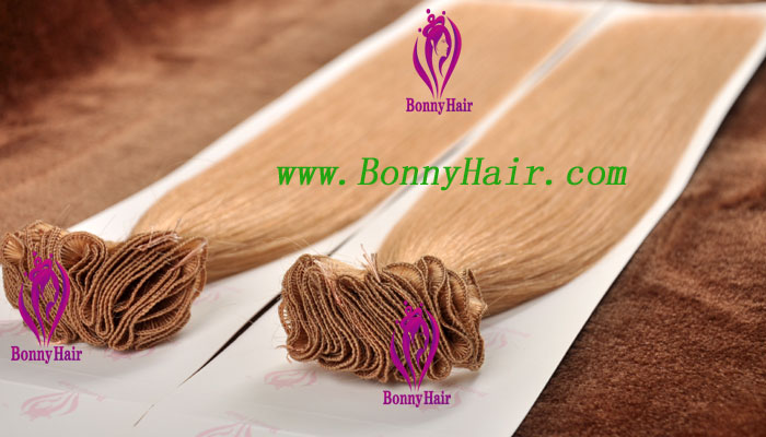 100% Remy Hair Hand Tied Hair Weft--68