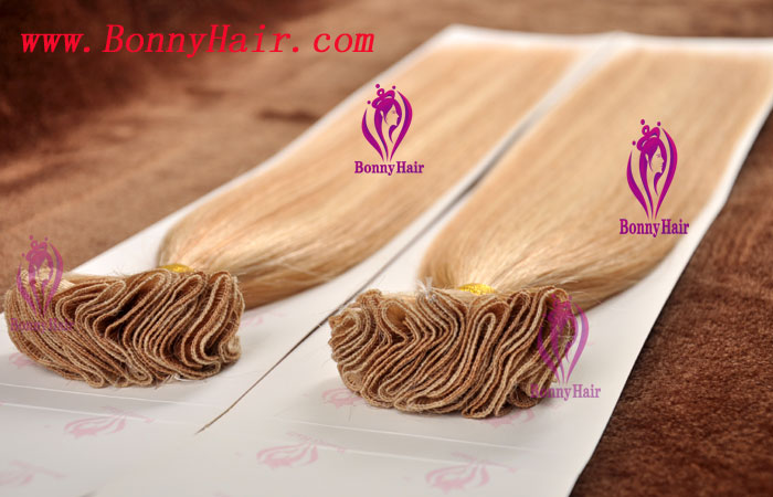 100% Remy Hair Hand Tied Hair Weft--71