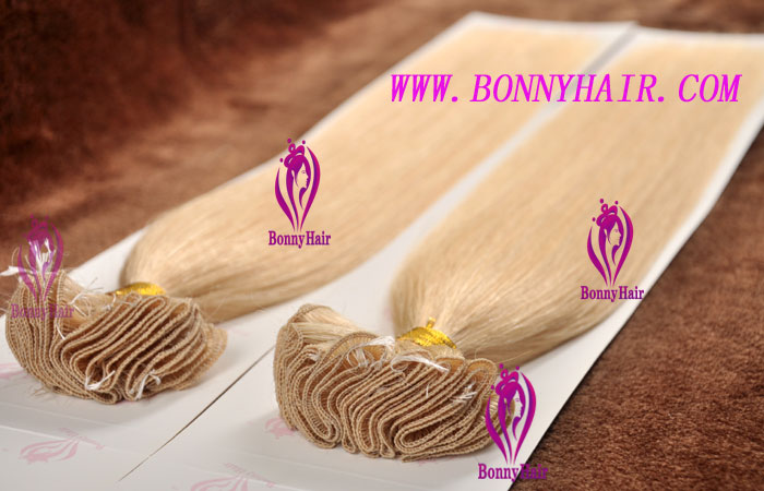 100% Remy Hair Hand Tied Hair Weft--73