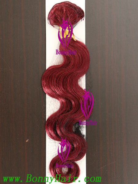 100% Remy Hair Hand Tied Hair Weft--77
